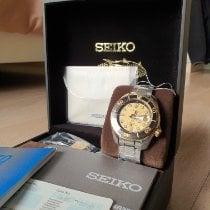 Seiko Prospex Acier 45mm Jaune