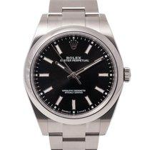 Rolex Oyster Perpetual 39 Steel 39mm Black No numerals United Kingdom, Radlett