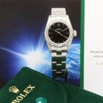 Rolex Oyster Perpetual Date Steel 26mm Black No numerals United Kingdom, London
