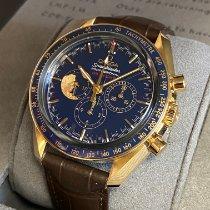 Omega 311.63.42.30.03.001 Желтое золото 2020 Speedmaster Professional Moonwatch 42mm новые