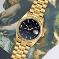 Rolex Datejust 16018 Very good Yellow gold 36mm Automatic