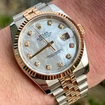 Rolex Datejust Gold/Steel 36mm Mother of pearl United States of America, Texas, Houston