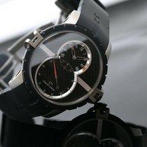 Jaquet-Droz Grande Seconde SW Титан 45mm Черный Без цифр