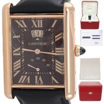 Cartier Tank Louis Cartier Rose gold 30mm Brown United States of America, New York, Huntington