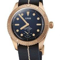 Oris 01 401 7764 3185-Set Bronze 2021 Carl Brashear 40mm new