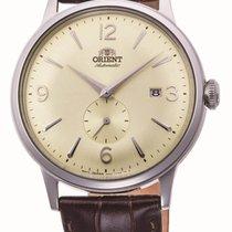 Orient Bambino Steel 40.5mm Yellow