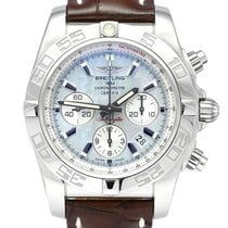 Breitling Chronomat 44 Steel 44mm Mother of pearl No numerals United Kingdom, Manchester