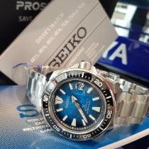 Seiko King Steel Blue No numerals