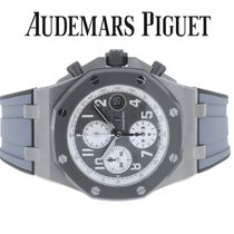 Audemars Piguet Titan Automatik Grau Arabisch 42mm neu Royal Oak Offshore Chronograph