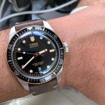 Oris Divers Sixty Five 01 733 7720 4055-07 8 21 18 Very good Steel 40mm Automatic India, navi mumbai