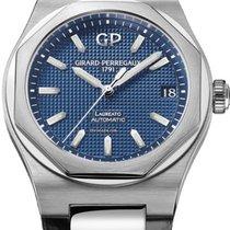 Girard Perregaux Laureato Steel 38mm Blue