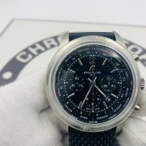 Breitling Transocean Unitime Pilot Steel 46mm Black United States of America, New York, NYC