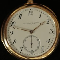 Vacheron Constantin Watch pre-owned 1900 Yellow gold 48mm Arabic numerals Manual winding Watch only