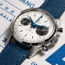 Uni-Racer UR-001 Panda dial white Zeer goed Staal 39mm Handopwind Nederland, Utrecht