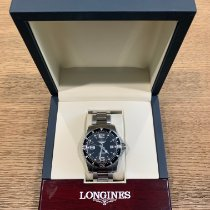 Longines HydroConquest pre-owned 41mm Black Date Steel
