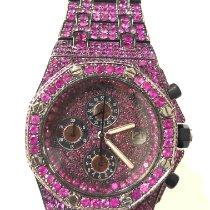 Audemars Piguet Royal Oak Offshore Chronograph pre-owned 42mm Pink Chronograph Date Steel