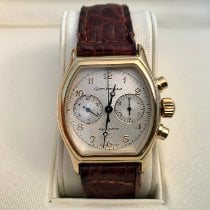Girard Perregaux Yellow gold Manual winding Silver Arabic numerals 35mm pre-owned Richeville
