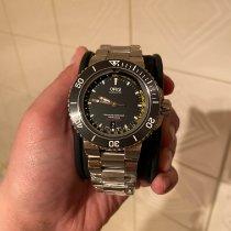 Oris Aquis Depth Gauge Steel 46mm Black No numerals