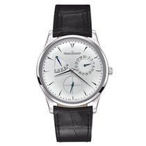 Jaeger-LeCoultre Master Ultra Thin Réserve de Marche Steel 39mm Silver No numerals United States of America, New York, New York