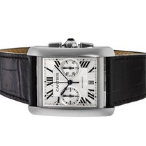 Cartier Tank MC new 2021 Automatic Chronograph Watch with original box and original papers W5330007