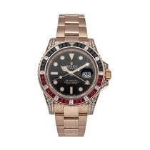 Rolex 126755SARU Rose gold GMT-Master II 40mm pre-owned United States of America, Pennsylvania, Bala Cynwyd