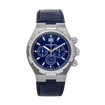 Vacheron Constantin Overseas Chronograph Steel 42mm Blue No numerals