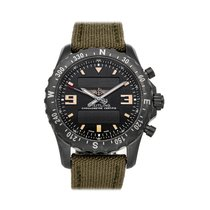 Breitling Chronospace Military 46mm Черный