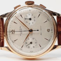 Universal Genève Compax Rose gold 38mm Silver