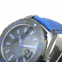 TAG Heuer Titane 43mm Remontage automatique TAG Heuer WAY208B.FC6382 Aquaracer Calibre 5 Automatic Titanium  Mens Watch nouveau