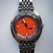 Doxa Sub Steel 42mm Orange No numerals