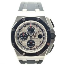 Audemars Piguet 26400SO.OO.A002CA.01 Steel 2014 Royal Oak Offshore Chronograph 44mm pre-owned