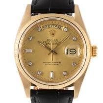 Rolex Day-Date 36 Желтое золото 34.5mm Золотой