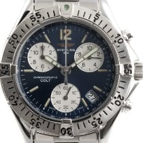 Breitling Colt Chronograph Steel 37mm Blue