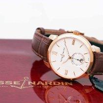 Ulysse Nardin Classic Rose gold 40mm Champagne Roman numerals