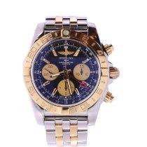 Breitling Chronomat 44 GMT Gold/Steel Black