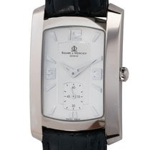 Baume & Mercier Hampton White gold 26mm Silver Arabic numerals United States of America, Texas, Austin