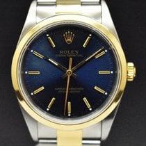 Rolex Oyster Perpetual Acero y oro 34mm Azul España, Barcelona