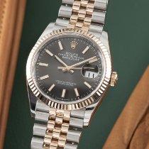 Rolex Datejust Gold/Stahl 36mm Grau Deutschland, Chemnitz