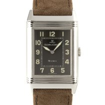 Jaeger-LeCoultre Reverso Grande Taille pre-owned 36.5mm Black Leather