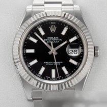Rolex Datejust II Золото/Cталь 41mm Черный