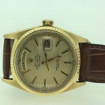 Rolex Day-Date 36 usados 36mm Oro Fecha Día de la semana Piel de aligátor