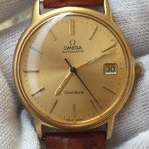 Omega 1012 Gold/Steel 1975 Genève 34mm pre-owned