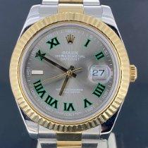 Rolex Datejust II 116333 Очень хорошее Золото/Cталь 41mm Автоподзавод