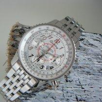 Breitling Montbrillant 01 Steel 40mm Silver Arabic numerals
