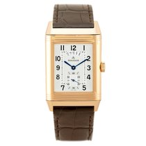 Jaeger-LeCoultre Grande Reverso Duo Rose gold 44.4mm Silver