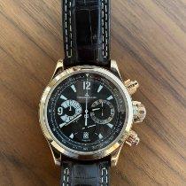 Jaeger-LeCoultre Master Compressor Chronograph Rose gold 41mm Black