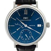 IWC Portofino Hand-Wound Steel 45mm Blue Roman numerals United States of America, Georgia, Atlanta