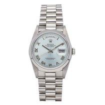 Rolex Day-Date Platinum 36mm Blue United States of America, Pennsylvania, Bala Cynwyd