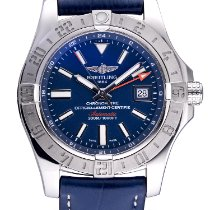 Breitling Avenger II GMT Steel 43mm Blue