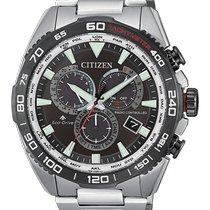Citizen Promaster Sky Steel 44mm Black No numerals